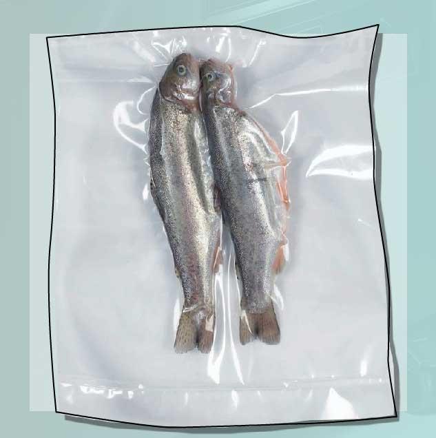 вакуумный пакет для упаковки рыбы